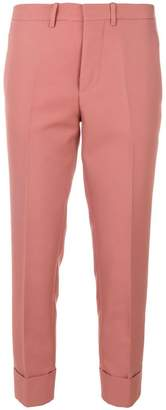 Marni high waist cropped trousers