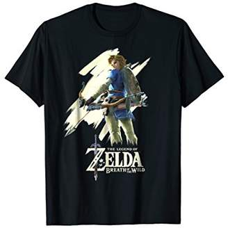 Nintendo Zelda Breath of the Wild Link Stare Graphic T-Shirt