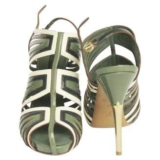 Louis Vuitton Multicolour Patent leather Sandals