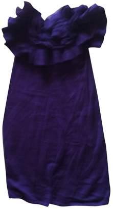Anthropologie Purple Wool Dress for Women