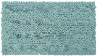 Jcpenney Laura Ashley Astor Striped Plush Chenille Bath Rug Collection