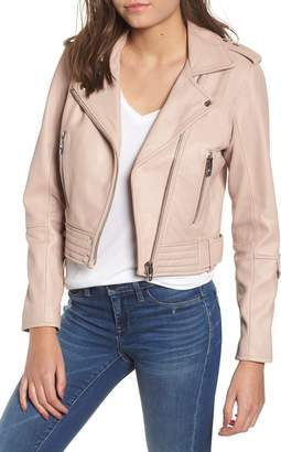 Blank NYC BLANKNYC Real Leather Moto Jacket