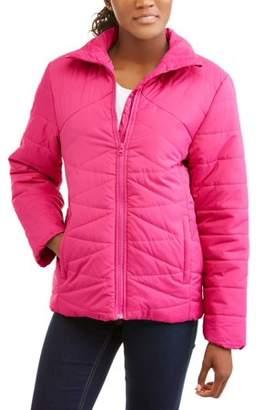I5 Apparel Women's Quilted Lightweight Puffer Jacket Coat