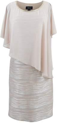 Frank Lyman Gold Cocktail Dress