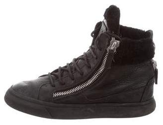 Giuseppe Zanotti Leather May London Sneakers