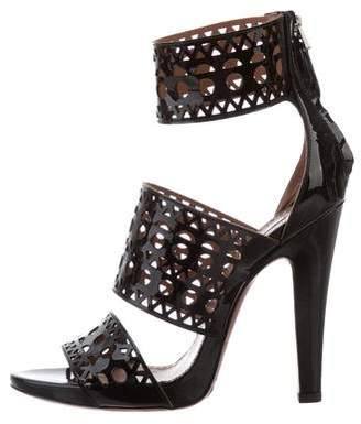 Alaia Multistrap Platform Sandals w/ Tags