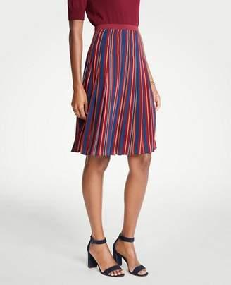 Ann Taylor Petite Stripe Skirt
