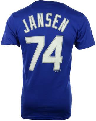 Majestic Men's Short-Sleeve Kanley Jansen Los Angeles Dodgers Player T-Shirt