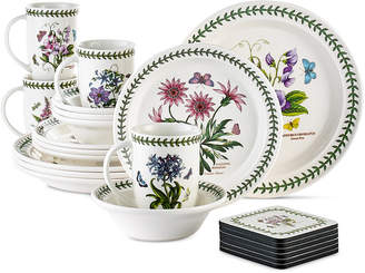 Portmeirion Botanic Garden 22 Piece Set Service for 4, Created for Macy's