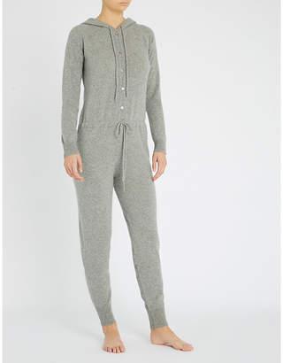 Madeleine Thompson Kalyke hooded cashmere onesie