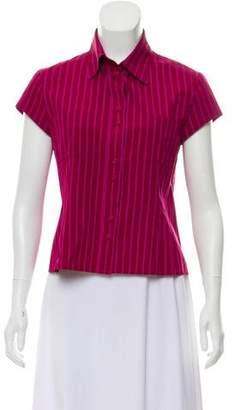 Louis Vuitton Lightweight Button-Up Top