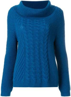 N.Peal cable knit jumper