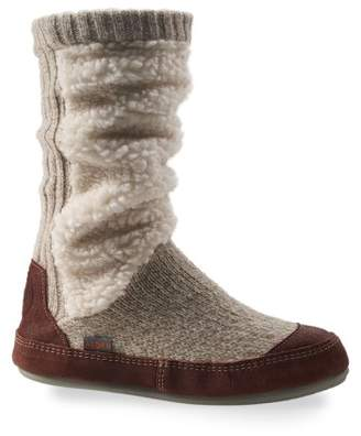 Acorn Slouch Slipper Boot