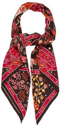 Hermes Cahsmere & Silk-blend Shawl