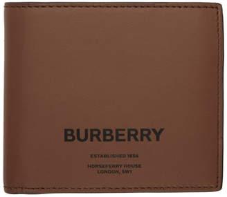 Burberry Brown Horseferry International Bifold Wallet