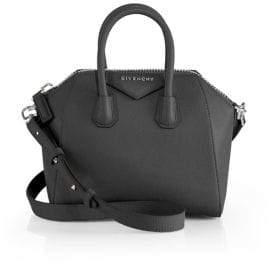Givenchy Antigona Mini Leather Satchel