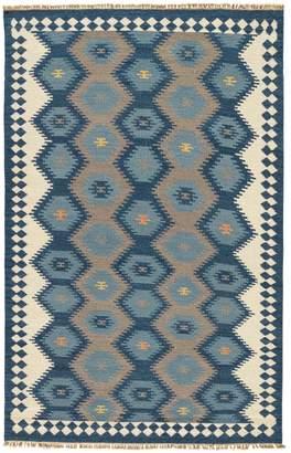 Jaipur Living Rugs Tribal Flatweave Hand-Woven Wool Rug