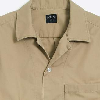 J.Crew Factory Slim-Fit Lightweight Chino Camp-Collar Shirt