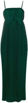 Krizia pleated maxi dress