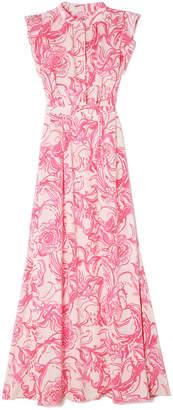 Lilly Pulitzer goop x Palm Beach Silk Maxi Dress