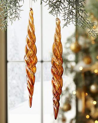Marvin Jim Glass Beaded Icicle Christmas Ornament