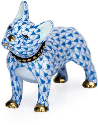 Herend Frenchie Dog Figurine
