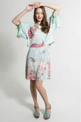 Smash Wear Fan Print Dress