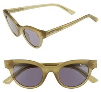 Quay Starstruck 48mm Cat Eye Sunglasses