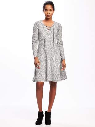 Lace-Up-Yoke Dress for Women $34.94 thestylecure.com