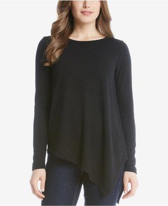 Karen Kane Asymmetrical-Hem Sweater $69 thestylecure.com