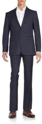 Calvin Klein Extreme Slim-Fit Pinstripe Wool Suit