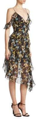 Nicholas Ava Floral Silk Dress