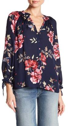 Joie Corsen Silk Floral Blouse