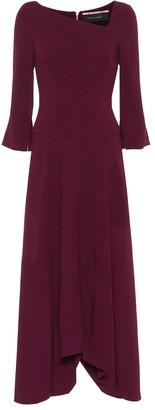 Roland Mouret Lita stretch-crepe maxi dress