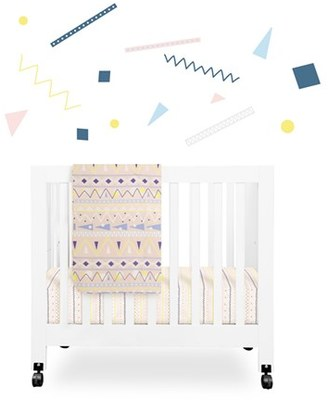 Babyletto 'Desert' Mini Crib Sheet, Changing Pad Cover, Stroller Blanket & Wall Decals $79 thestylecure.com