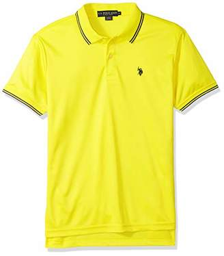 U.S. Polo Assn. Men's Short Sleeve Classic Fit Solid Interlock Polo Shirt