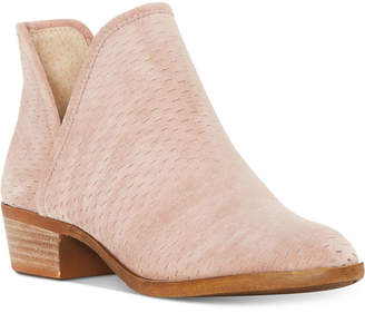 Lucky Brand Baley Perforated Chop Out Booties $129 thestylecure.com