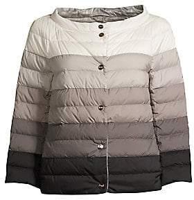 Herno Women's Reversible Matte& Shiny Down Jacket