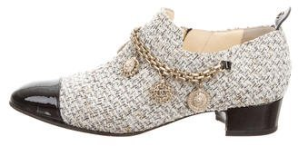 Chanel 2016 Lucky Charms Tweed Booties