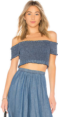 Show Me Your Mumu Truvy Smocked Top