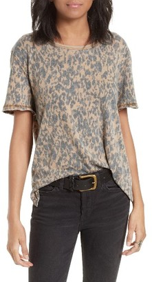 Women's Free People Army Tee $68 thestylecure.com