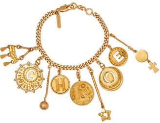 Chloé Gold-tone Charm Bracelet