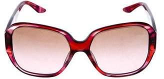 Versace Violet Square Sunglasses