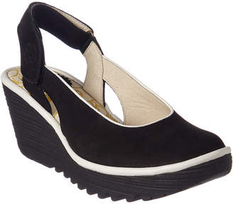 Fly London Yipi Leather Wedge