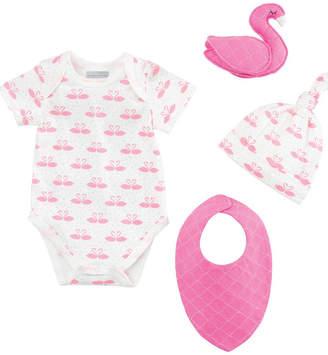 Elegant Baby Swan Gift Set