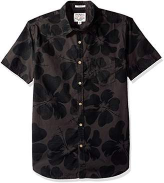 Lucky Brand Men's Woven Ballona Shirt