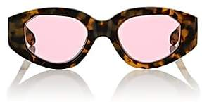 Karen Walker Women's Castaway Sunglasses-Rose