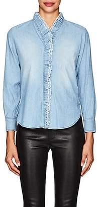 Etoile Isabel Marant Women's Lawendy Cotton Chambray Shirt - Blue