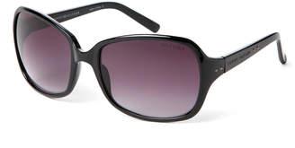 Tommy Hilfiger Black Tenley Rectangular Sunglasses
