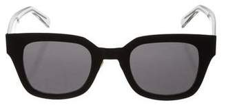 Celine Matte Wayfarer Sunglasses w/ Tags
